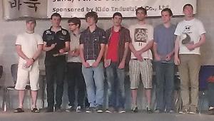 Abschlussfoto der Top8 Gruppe.