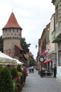 Cafés an der Stadtmauer
