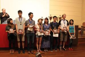 Den ersten Platz machen Manja Marz und Youngsam Kim