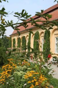 Die Orangerie gehört zu den restaurierten Teilen der Gartenanlage