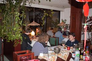 Das Asia-Restaurant in Bad Salzuflen bietet genug Platz für reichlich Go-Spieler