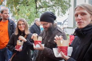 Verpflegung auf dem Herbstrummel in Lippstadt
